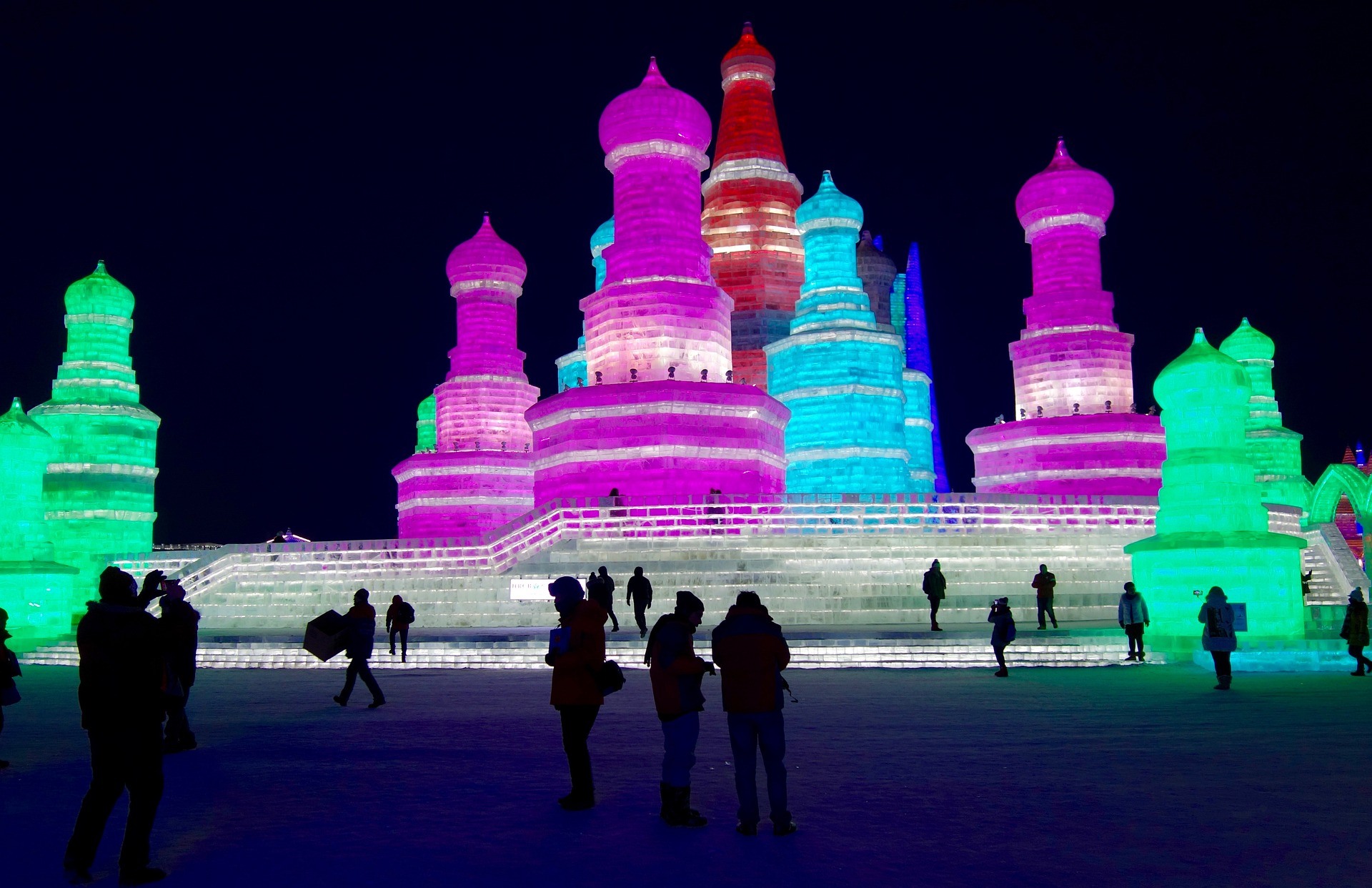 best places to travel in january harbin ice festival