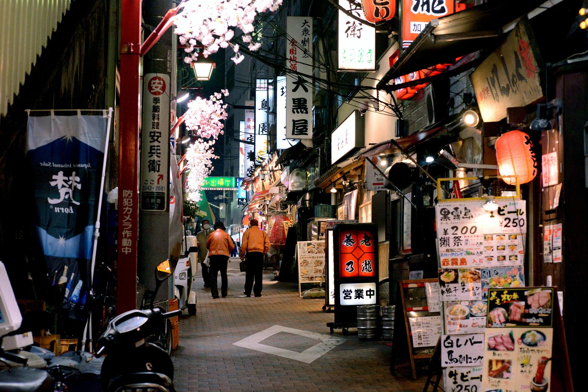 tokyo nightlife travel