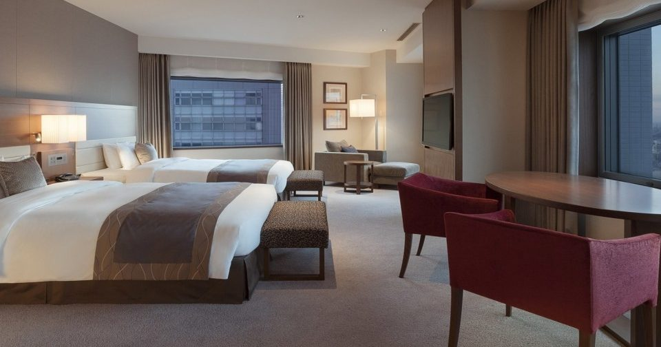 hotel double at tokyo southern tower hotel