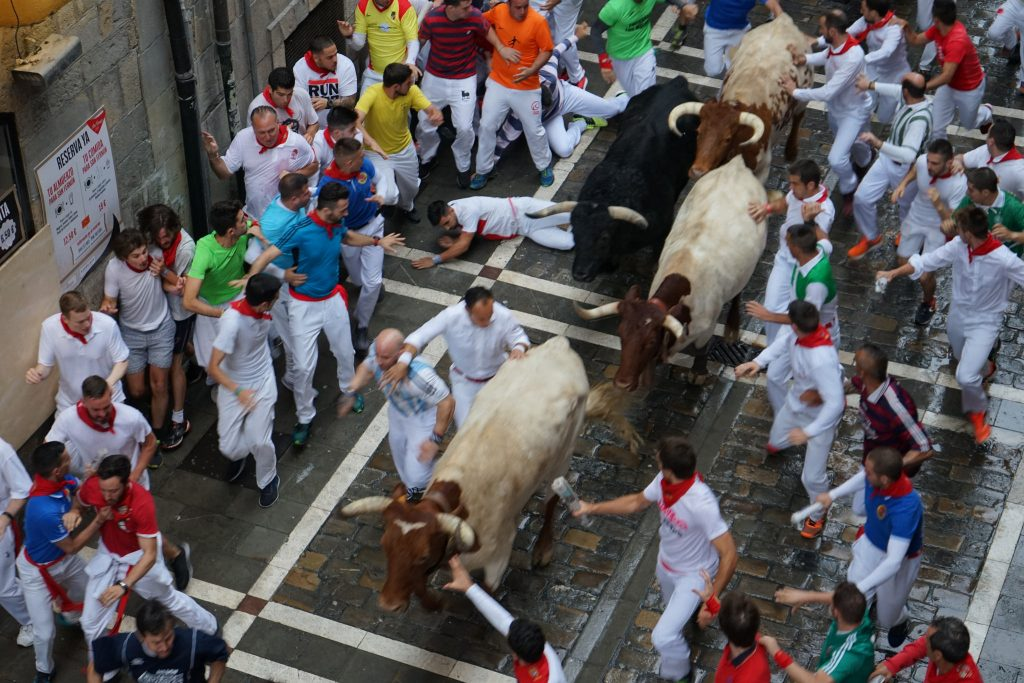 running of the bulls rules