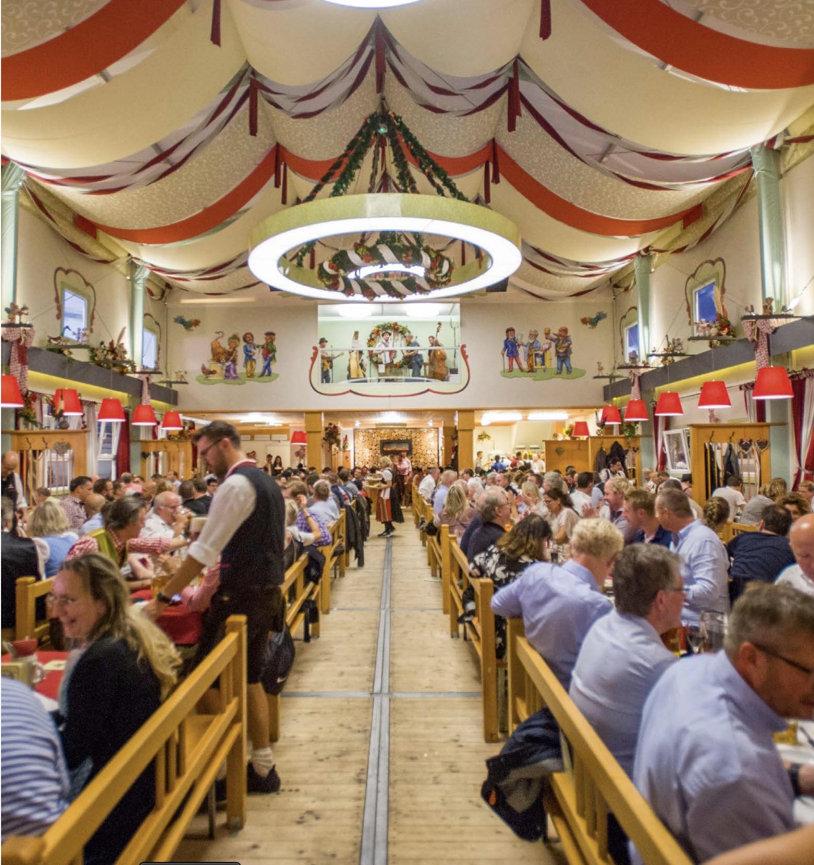 Oktoberfest Small Tents