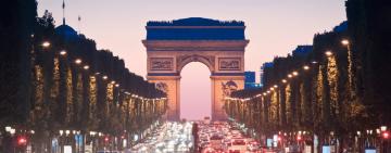 2024 Paris Summer Games - Arch