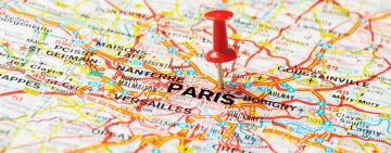 2024 Paris Summer Games - Map
