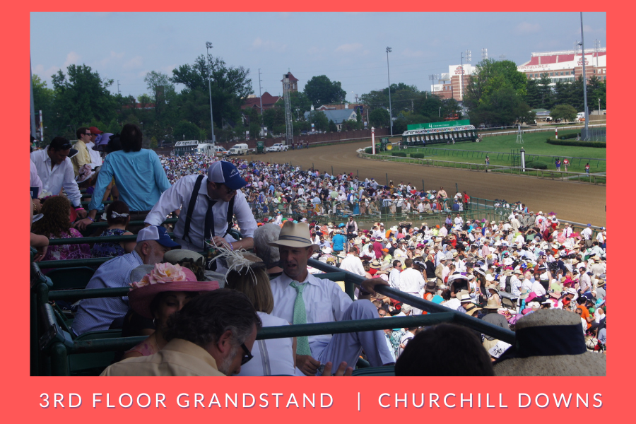 Where to sit at the Kentucky Derby