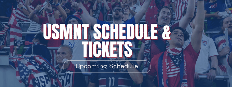 USMNT World Cup Qualifying Schedule and Tickets